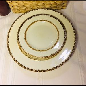 "Tahiti 10.75"" Dinner Plate and 8"" Side/Salad Plate"